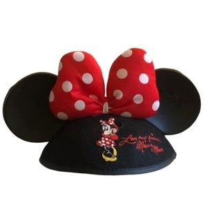DISNEY WORLD Minnie Mouse Ears Youth
